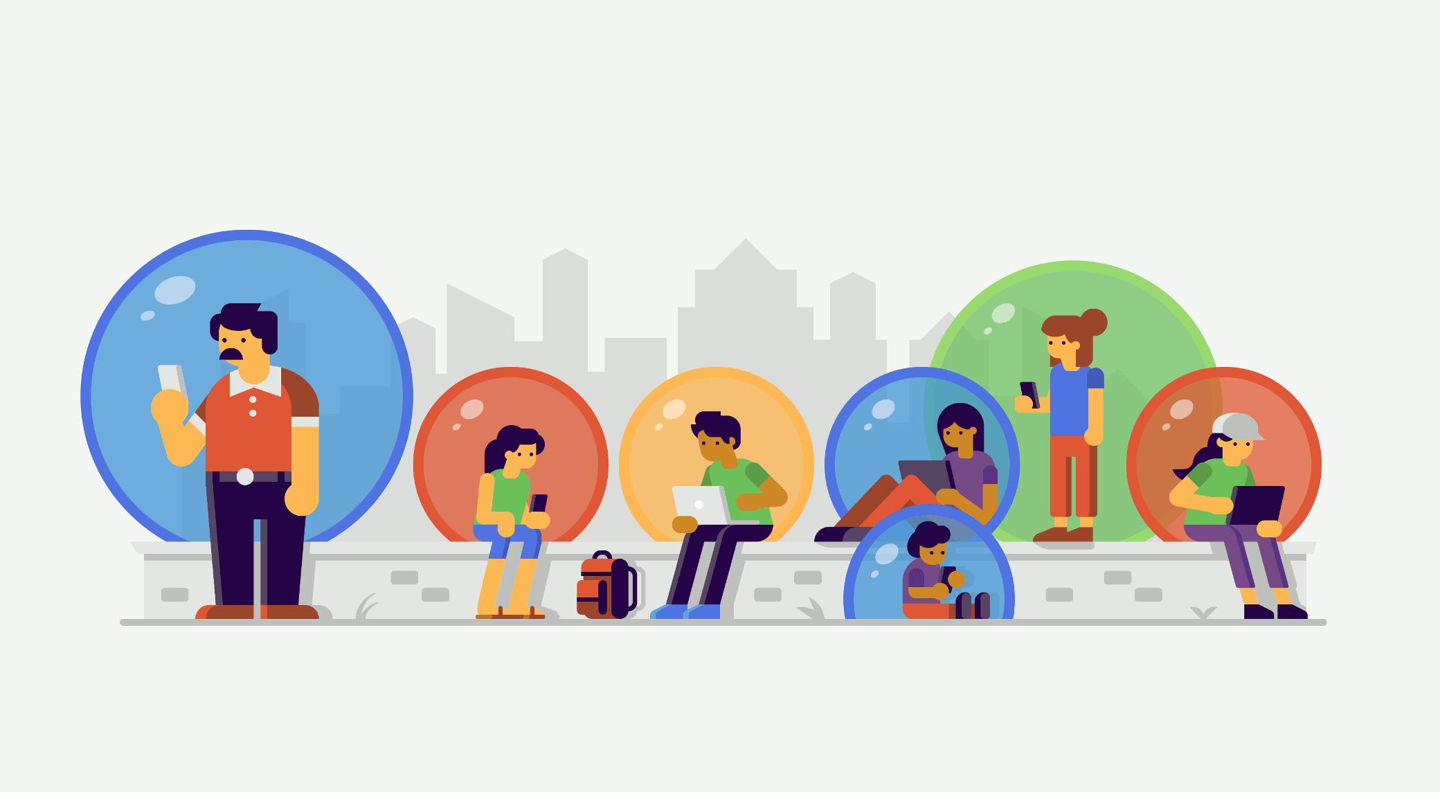 فیلترینگ حبابی گوگل | GoodTechLife