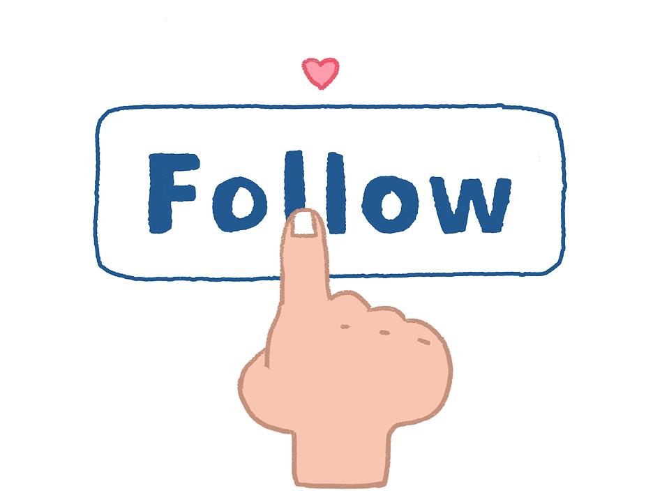 Følg, Follower, Social, Sosiale Medier